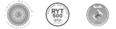 Yoga Alliance, Amrit, SVA Logos